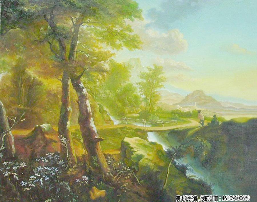 大师油画风景作品