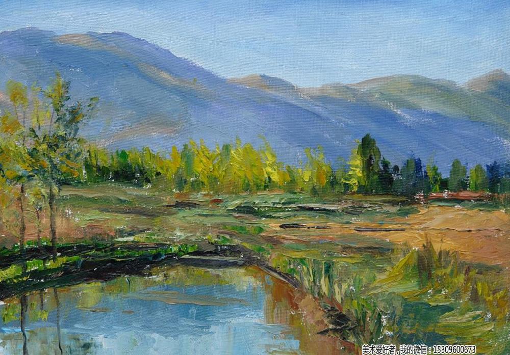 油画风景作品欣赏