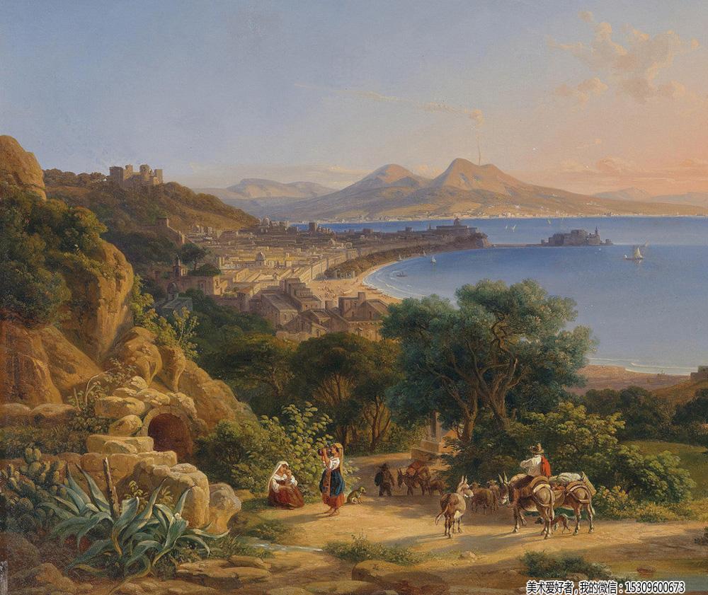古典油画风景