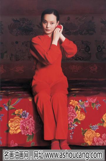王沂东人物油画作品《新娘》欣赏