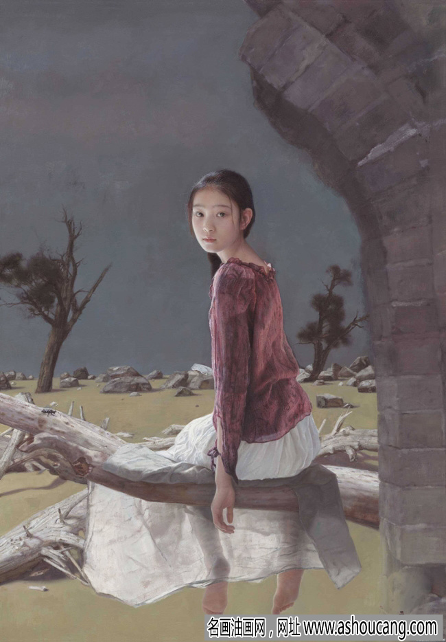 吴静涵人物油画作品欣赏