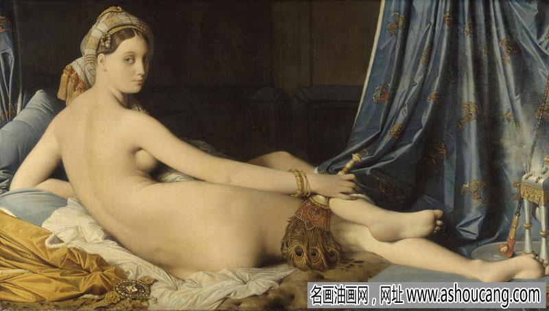 安格尔人物油画作品欣赏