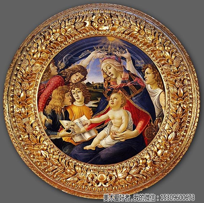 波提切利油画名画欣赏(二)