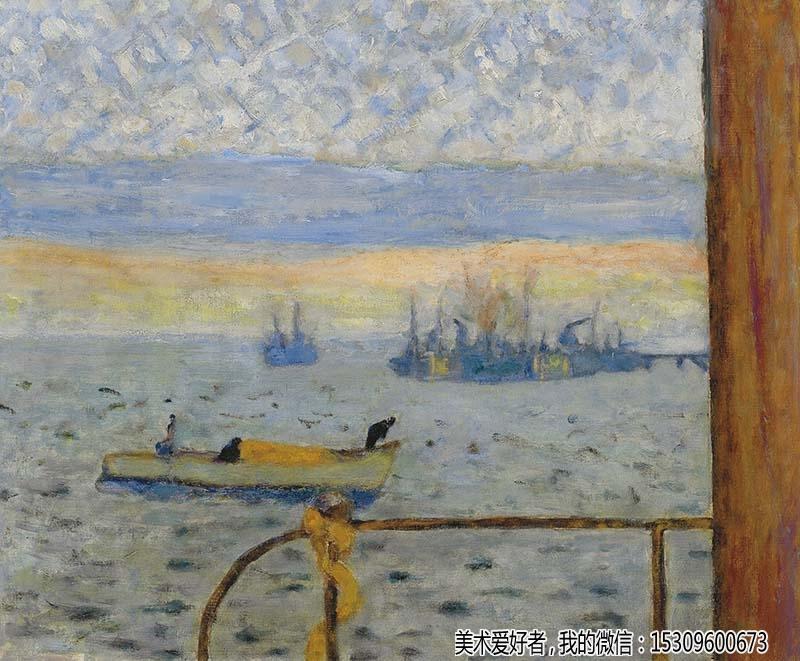 博纳尔风景油画作品欣赏