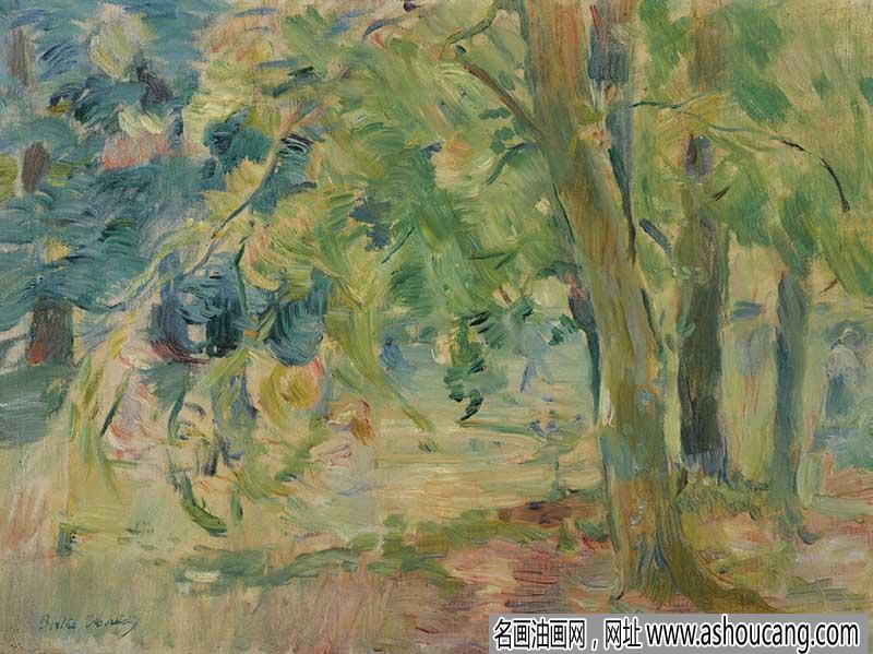 莫里索风景油画作品欣赏