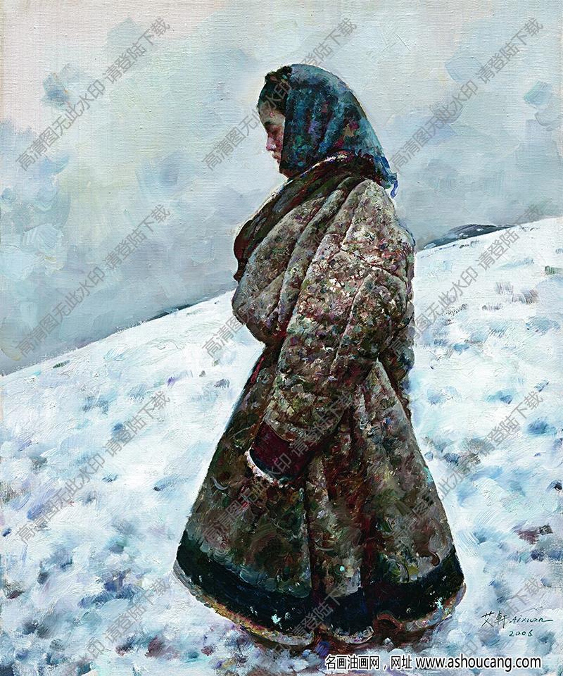 艾轩油画作品高清56下载