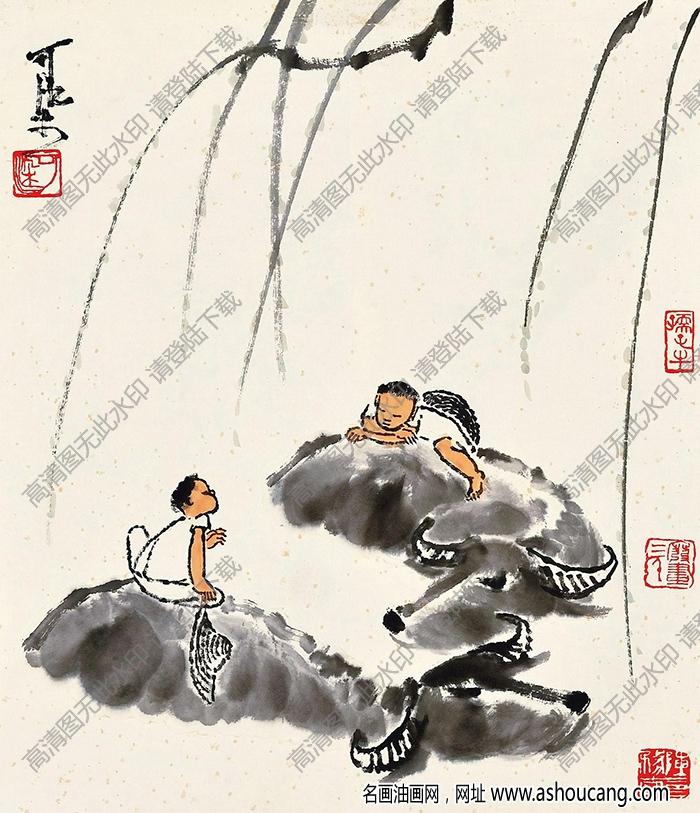 李可染国画作品高清24下载