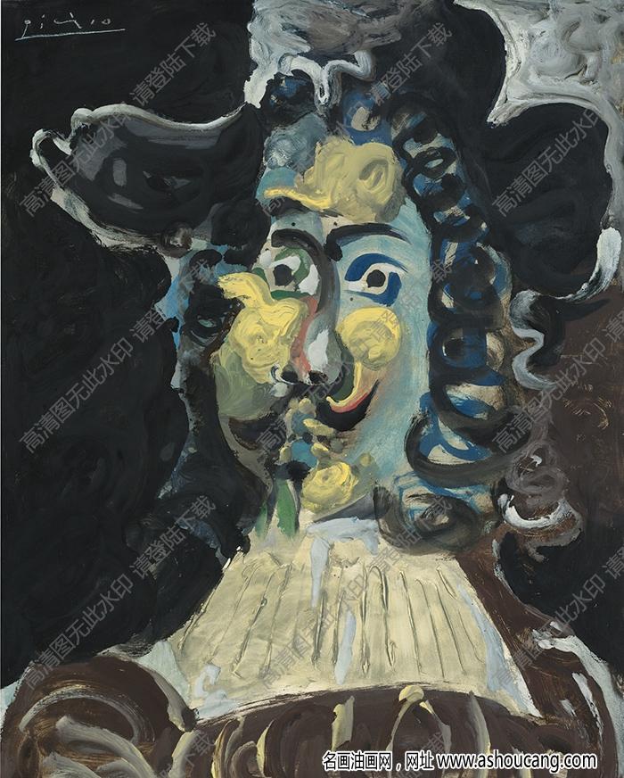毕加索油画高清大图22下载