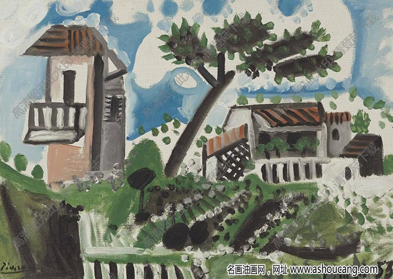 毕加索油画高清大图29下载