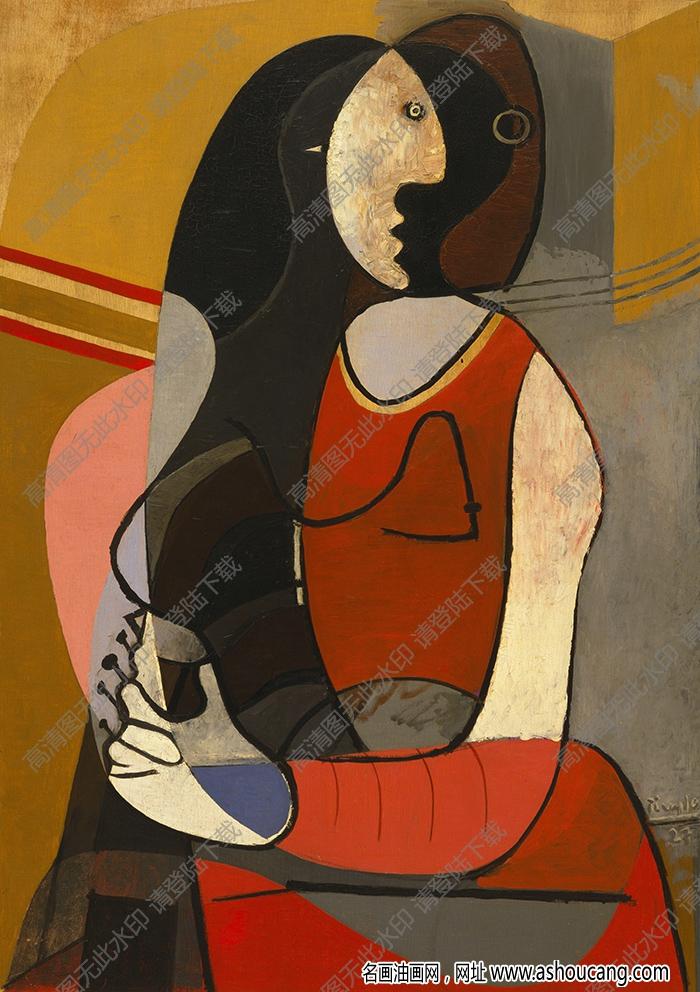 毕加索油画高清大图36下载