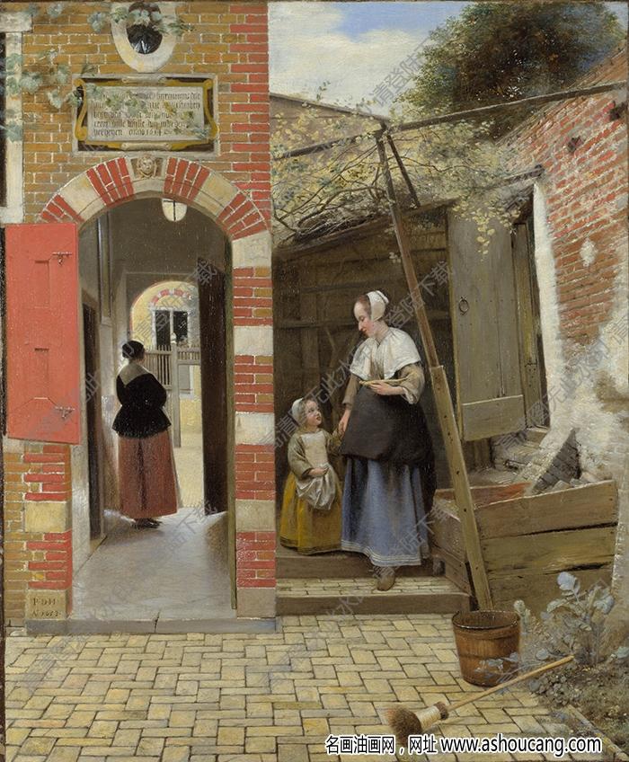 维米尔油画作品高清18下载