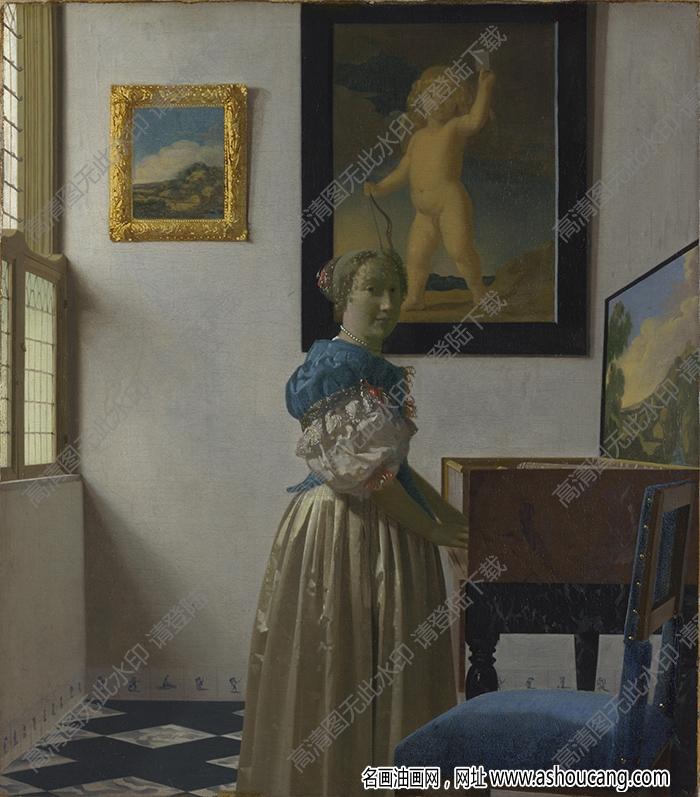 维米尔油画作品高清25下载