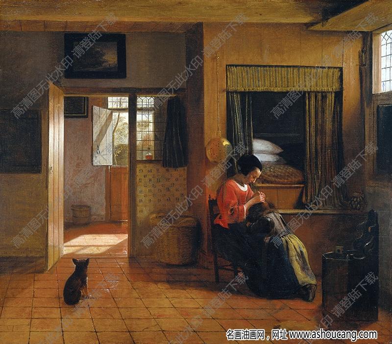 维米尔油画作品高清30下载