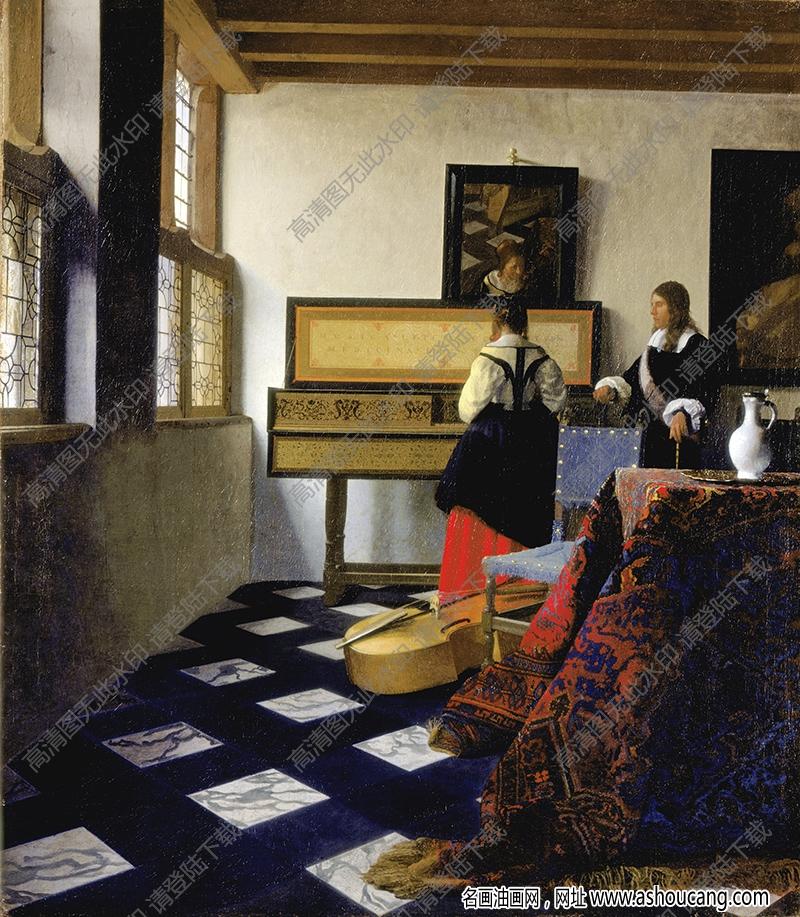 维米尔油画作品高清31下载