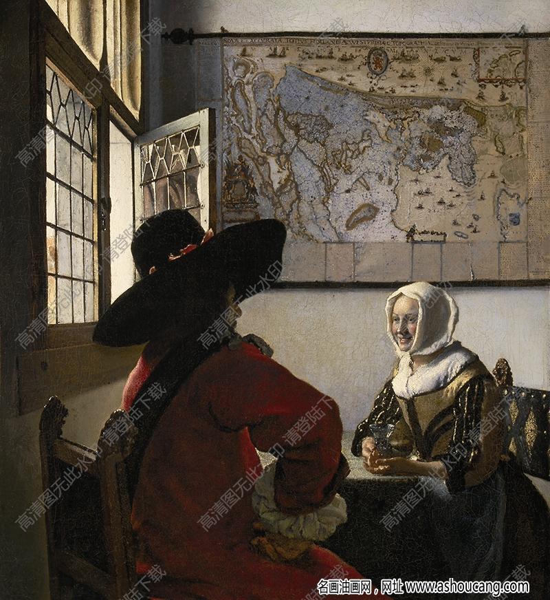 维米尔油画作品高清32下载