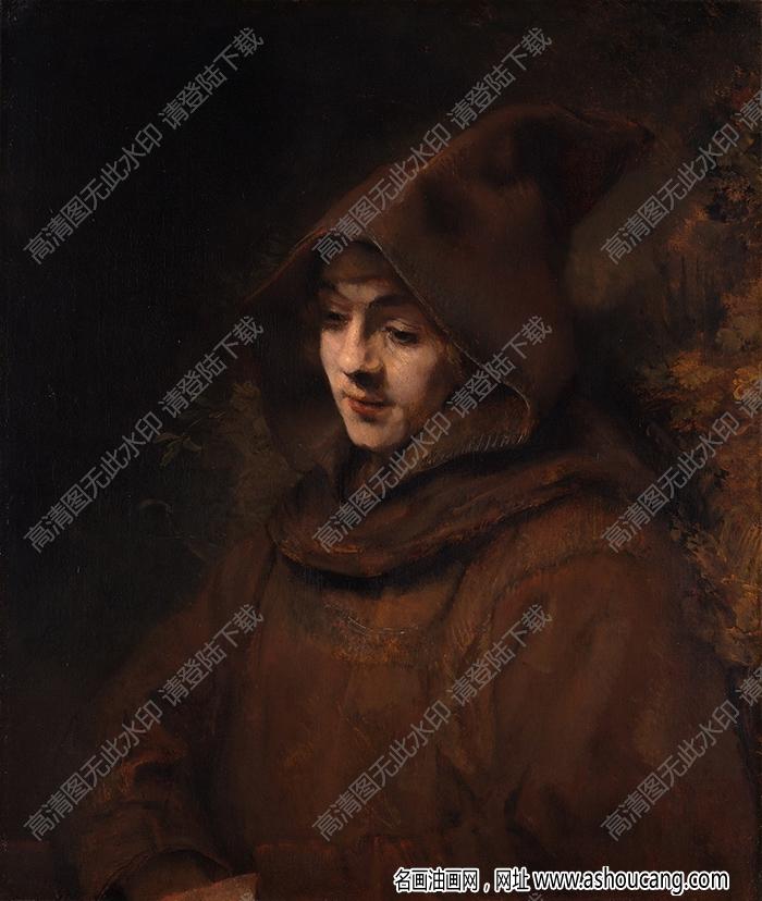 伦勃朗油画高清图片10下载
