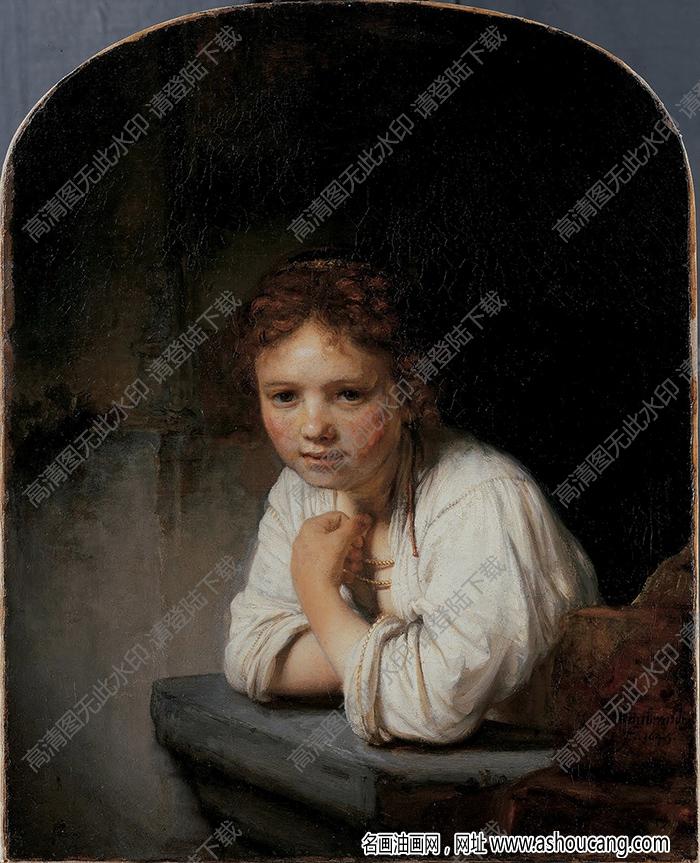 伦勃朗油画高清图片20下载