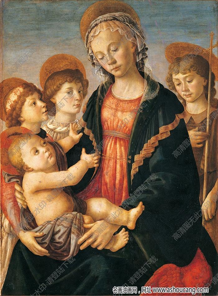 波提切利油画作品高清56下载