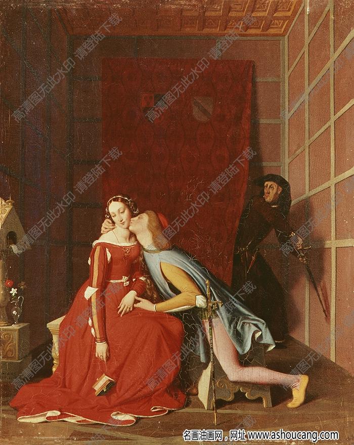 安格尔油画作品高清3下载