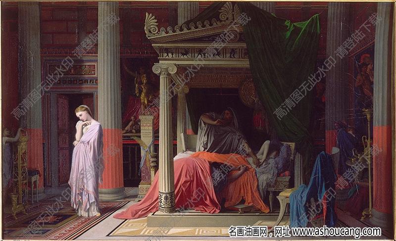 安格尔油画作品高清16下载