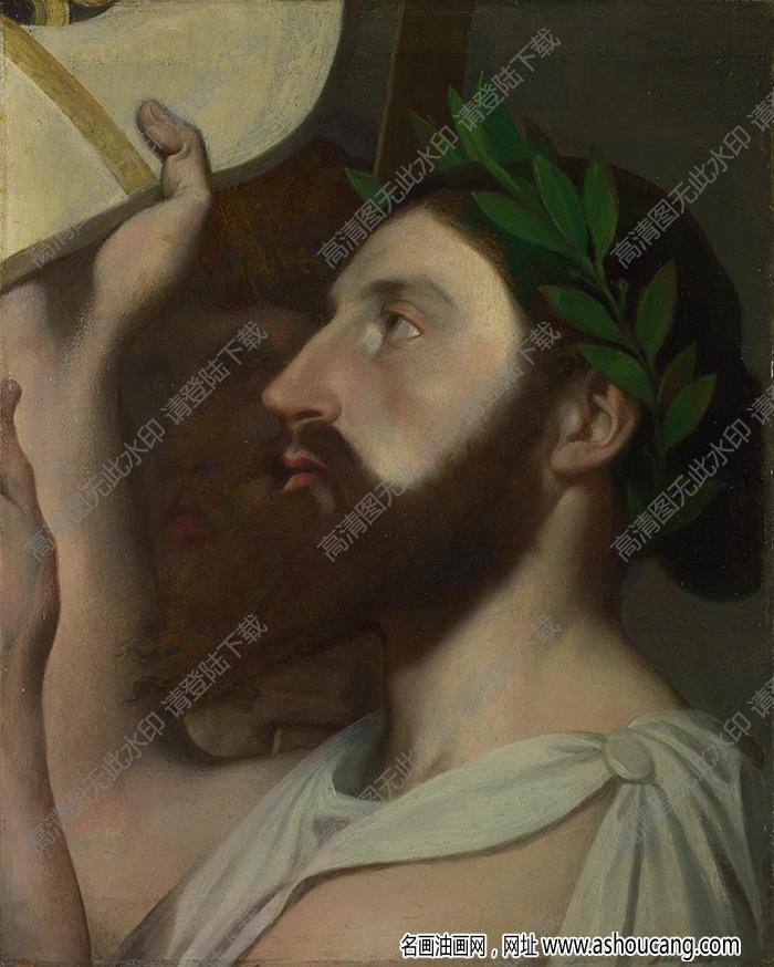 安格尔油画作品高清23下载