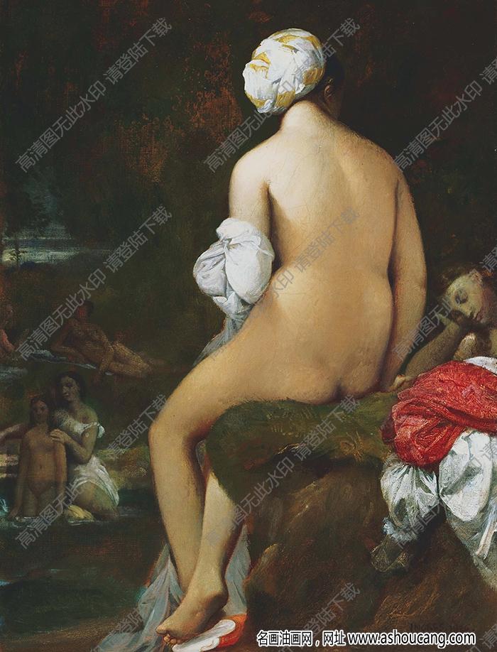 安格尔油画作品高清36下载