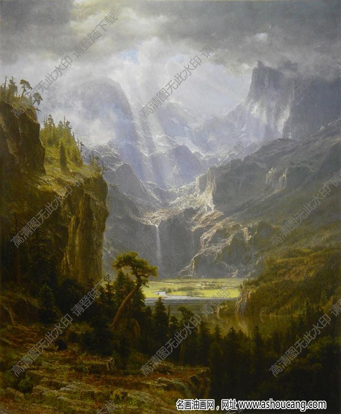 比尔史伯特油画高清图片32下载