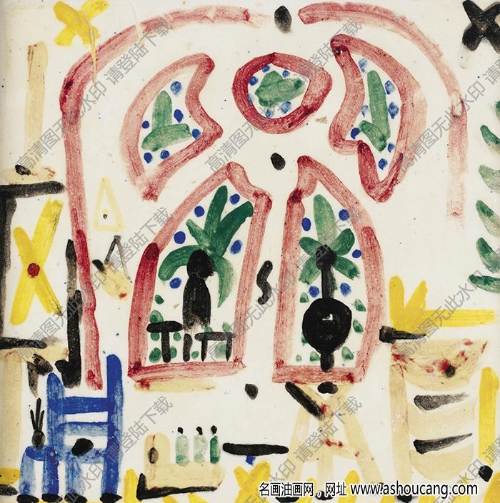 毕加索油画作品高清73下载