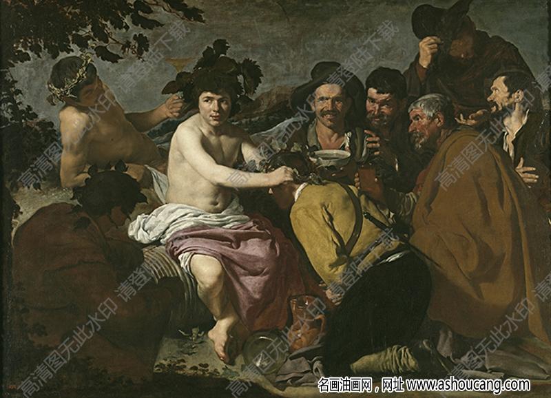 委拉斯开兹油画作品高清26下载