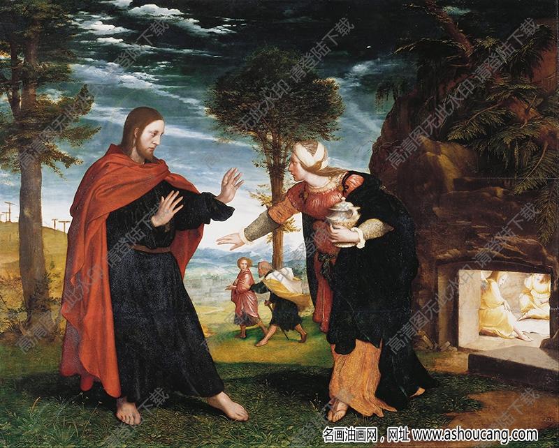 荷尔拜因油画作品高清39下载