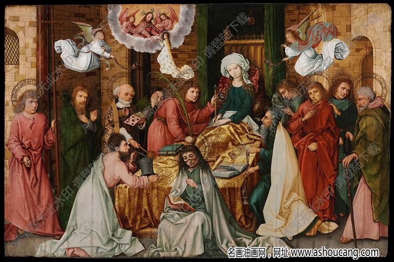 荷尔拜因油画作品高清44下载