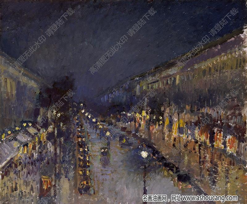 毕沙罗油画作品高清45下载