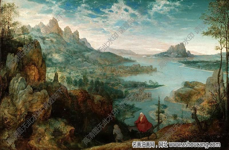 老勃鲁盖尔油画高清图片5下载