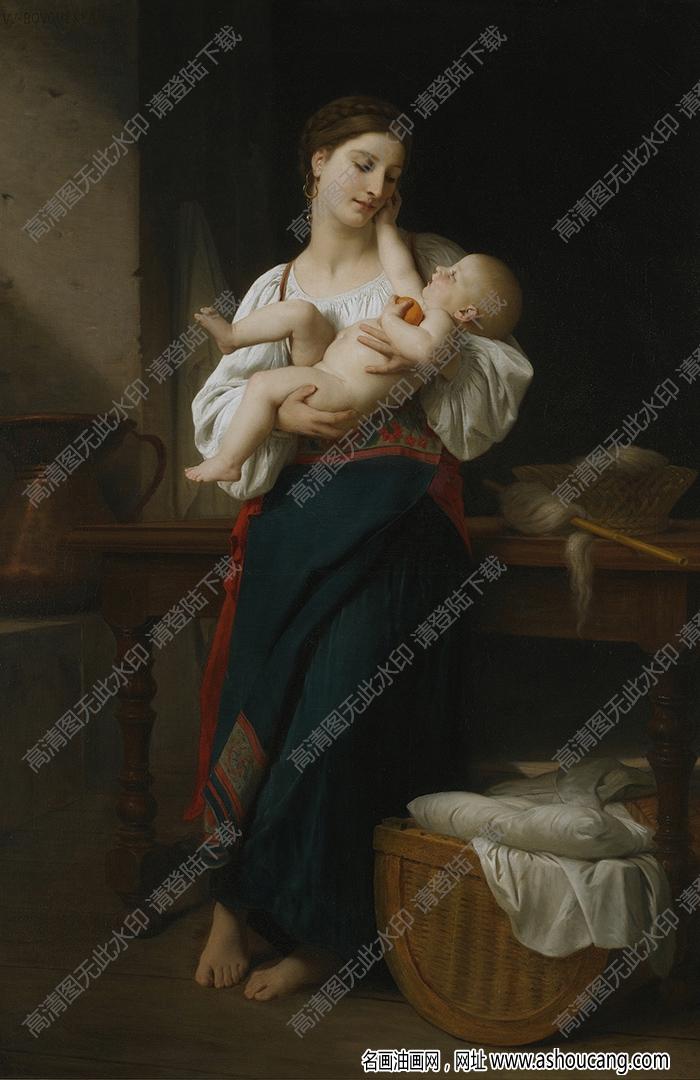 布格罗油画作品高清83下载