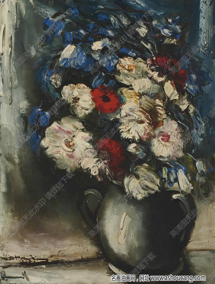 弗拉曼克油画作品高清10下载