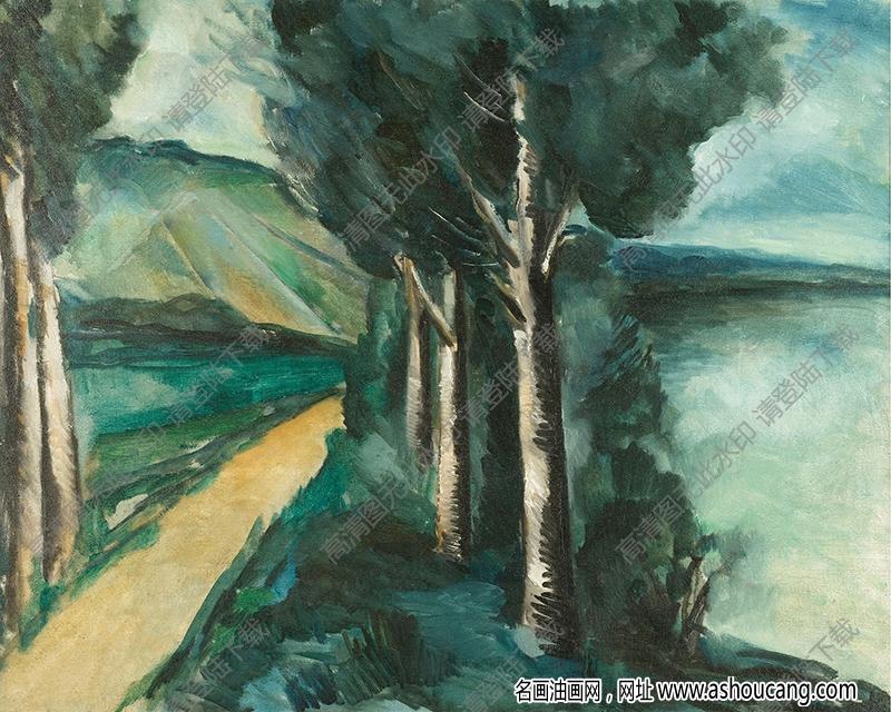 弗拉曼克油画作品高清12下载