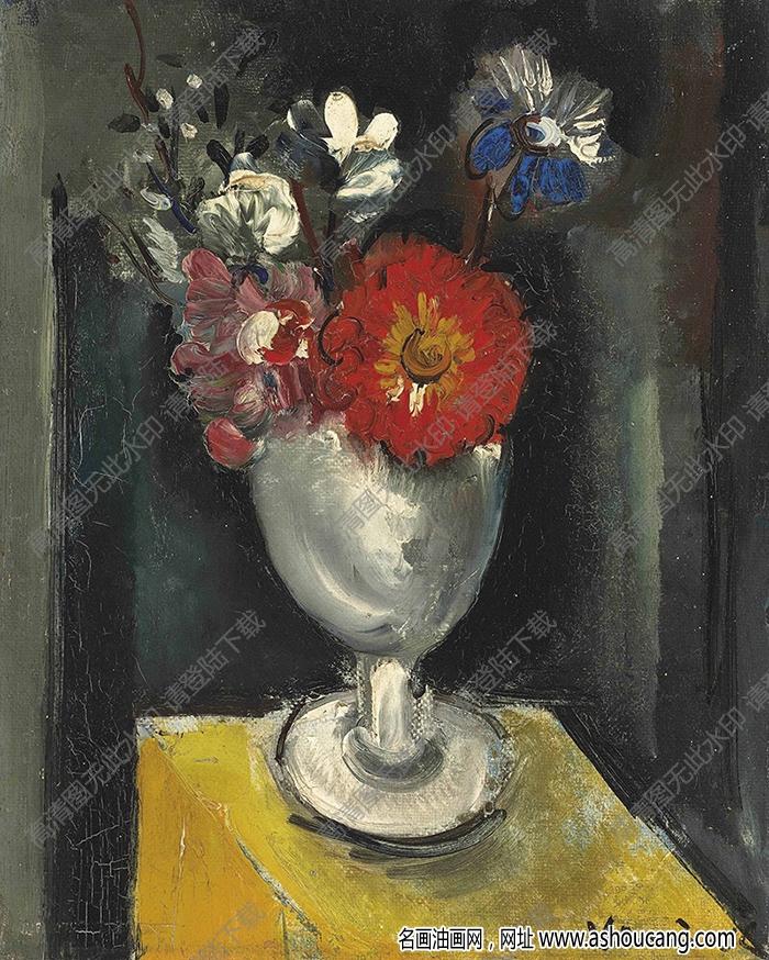 弗拉曼克油画作品高清14下载