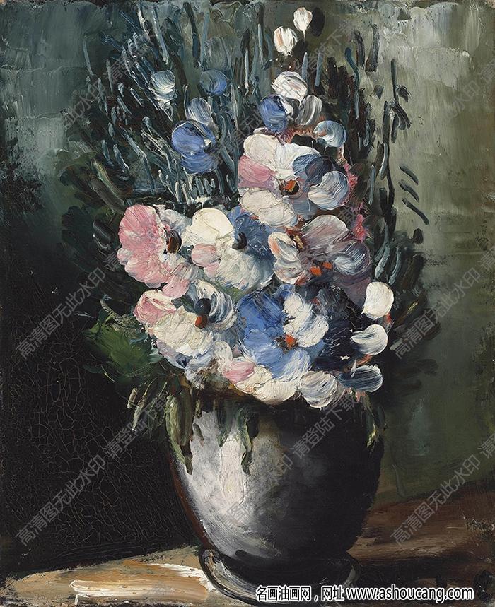 弗拉曼克油画作品高清16下载