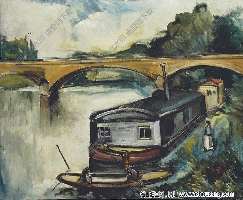 弗拉曼克油画作品高清17下载