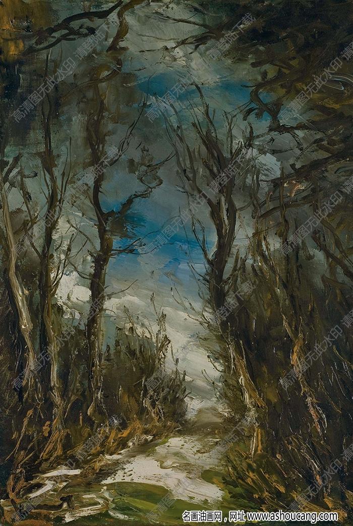 弗拉曼克油画作品高清18下载