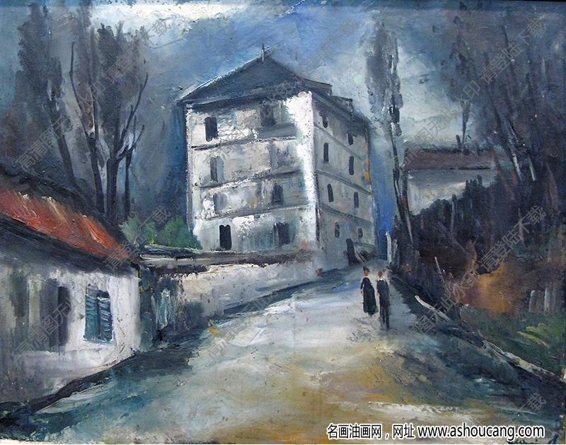 弗拉曼克油画作品高清19下载