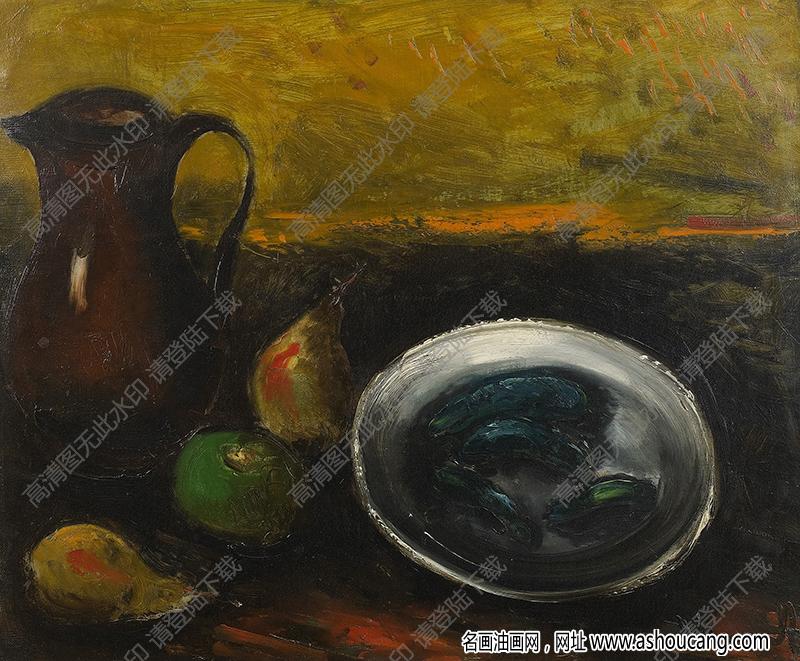 弗拉曼克油画作品高清20下载