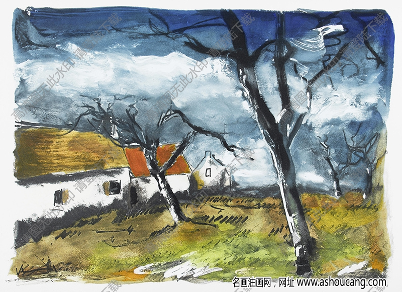 弗拉曼克油画作品高清21下载