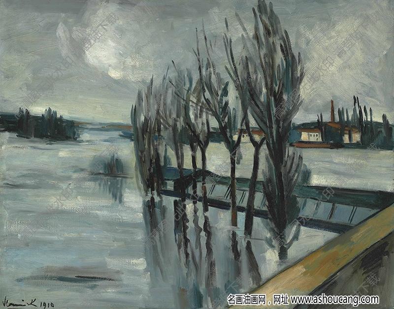 弗拉曼克油画作品高清29下载