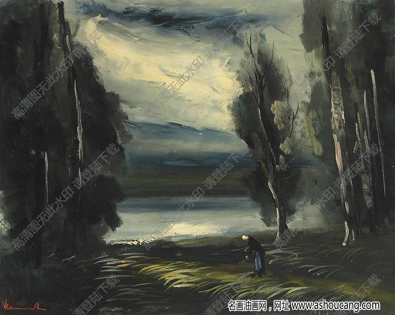 弗拉曼克油画作品高清30下载