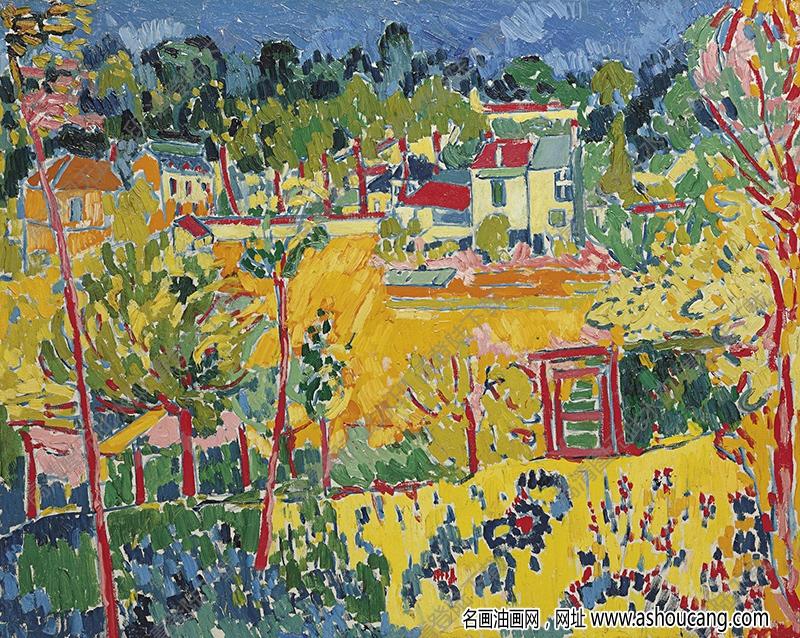 弗拉曼克油画作品高清31下载