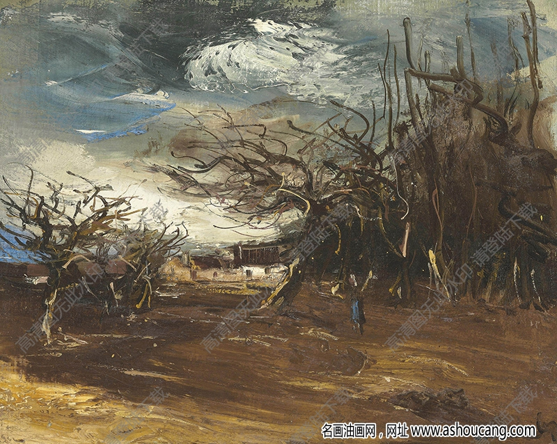 弗拉曼克油画作品高清32下载