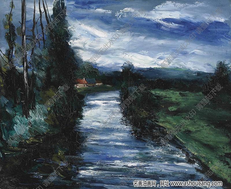 弗拉曼克油画高清图片37下载