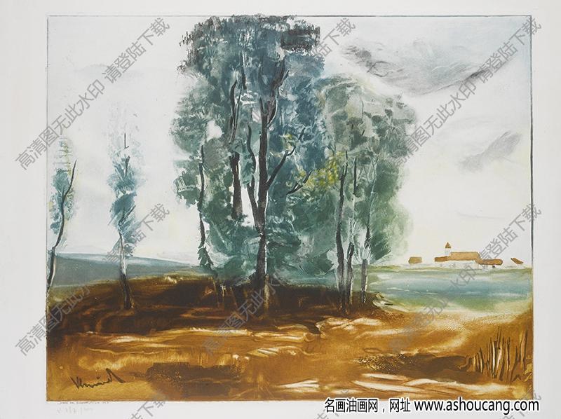 弗拉曼克油画高清图片44下载