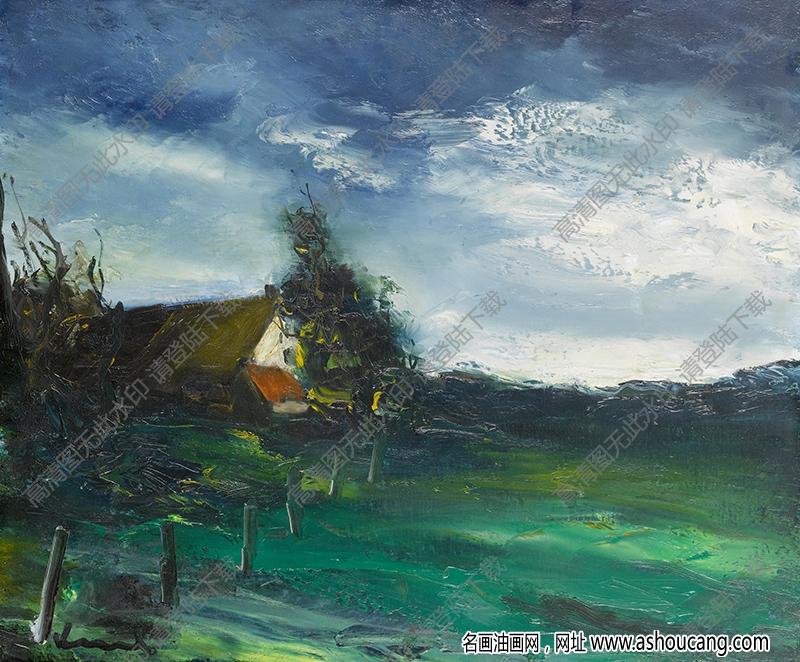 弗拉曼克油画高清图片45下载